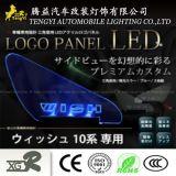 Lampe de panneau automatique de logo de lumière de guichet de véhicule de DEL pour Toyota Voxy