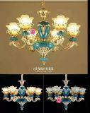 Franch Art-goldenes Zink-Legierungs-Leuchter-Licht