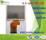 "3.5 "" экран 320X240 RGB 24bit TFT LCD, Hx8238d, 54pin с панелью касания"