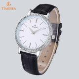 새로운 상표 스테인리스 숙녀 시계 여자 모조 다이아몬드 시계 석영 시계 71147