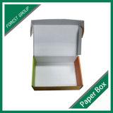 Preiswerter Zoll gedruckte Matt-Papier-verpackende gewölbte Kästen für das Senden