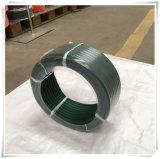 Bande de conveyeur ronde d'unité centrale de la courroie de polyuréthane vert/8mm pour piloter