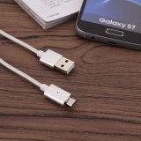 Venta al por mayor de nylon 2.4A 5V de carga de sincronización de datos USB para el teléfono móvil