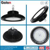 Industrielle Lampen-Beleuchtung IP65 UFO-Highbay imprägniern Fühler 130lm/W Dimmable 240W 200W 100W 150W LED hohes Bucht-Licht