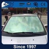 2 película solar metálica do indicador de carro do risco UV99 da dobra anti