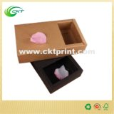 Caixa de embalagem Kraft dobrável em impressão a cores (CKT - CB- 71)