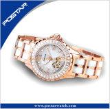 2017 signora automatica White Ceramic Watch della vigilanza di più nuova di disegno a+ moda di lusso di qualità