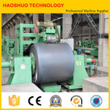 Taglio semiautomatico della bobina d'acciaio del metallo alla riga di lunghezza in macchinario per il taglio di metalli