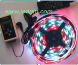 5 Meter pro Streifen-Lichter Rollen-Gleichstrom-12V 7.5W/Meter SMD 5050 30LEDs /Meter RGB LED