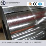 Hoja de acero galvanizada sumergida caliente de Z80 Z180 Z275