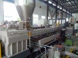 PE EVA+CaCO3 die van pp Plastic Pelletiserende Extruder Masterbatch vullen