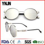 Les lentilles faites sur commande rondes de Ynjn Sunglass de modèle neuf ont reflété (YJ-F83487)
