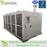 Refrigeratore di acqua a vite raffreddato aria modulare industriale