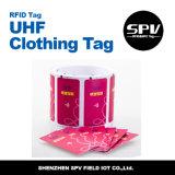 Etiqueta de papel 860 960MHz de la frecuencia ultraelevada de la ropa de Sika RFID
