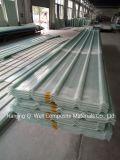 Il tetto ondulato della vetroresina del comitato di FRP/di vetro di fibra riveste C17006 di pannelli
