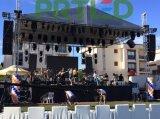 Alto schermo esterno dell'affitto LED di luminosità SMD del passo 5mm (scheda di 640X640mm)