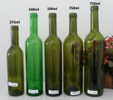 375ml, 500ml, frascos de vinho 750ml