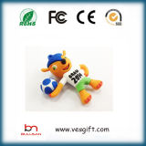 Lecteur flash USB 100% mou de PVC de Pendrive Custome de cadeau de promotion