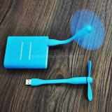 Heiße verkaufen2 in 1 Miniblätter des ventilator-zwei beweglichem Mini-USB-Mikrostecker-Taschen-Ventilator für OTG androide Telefone und andere USB-Porteinheiten