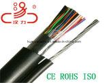 Alambre de gota 2 pares cable del audio del conector de cable de la comunicación de cable de datos del cable del cable/del ordenador de teléfono
