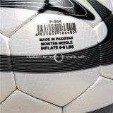 La mano cosió el balón de fútbol al por mayor impreso aduana