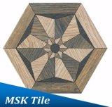 la porcelana 200X230 Madera-Mira el azulejo Kl-07-H2 del hexágono