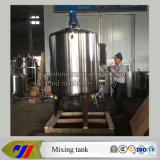 Tanque refrigerando do aço inoxidável e de aquecimento Jacketed