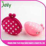 Raccoglitore della borsa della moneta delle donne sveglie dello schiocco all'ingrosso di colore rosa