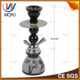 Produto novo da mini tubulação preta do cachimbo de água do frasco de Shisha