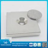 Forte magnete permanente del POT dell'amo del supporto del neodimio della terra rara