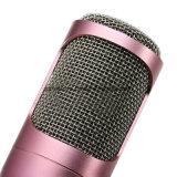 Microfone dinâmico sem fio de Bluetooth Condeser do amplificador do altofalante do karaoke de Wholsale