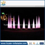 Aufblasbares Beleuchtung-Modell, aufblasbarer Beleuchtung-Pfosten für das Bekanntmachen der Dekoration