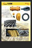 Le renvoi d'avant d'excavatrice de Hitachi Ex120-5 Ex200-5, suivent la roue folle