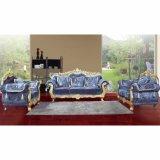 Sofá de madera para los muebles de la sala de estar (D929C)