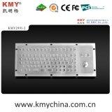 Ik07 트랙볼 (KMY299I-2)를 가진 Vandalproof 스테인리스 키보드