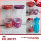 Freie Plastikwein-Flasche des Haustier-750ml/1000ml, Fruchtsaft-Krug