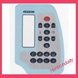 Touche à effleurement de clavier de recouvrement d'impression de circuit de clavier numérique de contrôle