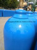 Cilindros de oxigênio médicos de 50 litros com válvulas do oxigênio