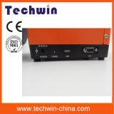 Techwin Fsm толковейший оптического волокна Splicer Splicer стекловолокна Splicer сплавливания автоматически с высокой машиной точности Tcw605 соединяя