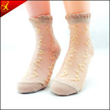 Hotsale calcetines de diseño chino transparente