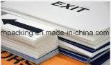 Feuille en plastique ondulée de mur jumeau du polypropylène pp/feuille de Correx Coroplast Corflute avec l'impression de couleur 2