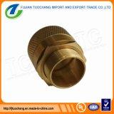 Accessori per tubi d'ottone dell'accoppiamento del condotto dell'adattatore d'ottone