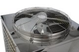 Eau chaude jusqu'pompe à chaleur air-eau d'acier inoxydable de 60 degrés à la mini