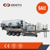 frantoio primario mobile del minerale metallifero 100-300tph con il migliore prezzo