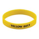 Debosssed e braccialetto del silicone riempito colore