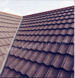 Colorful que se enclavija Stone Coated Metal Roofing Tile 1350*420*0.4m m