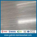Feuille laminée à chaud 304 Thaïlande d'acier inoxydable de la quantité en bloc 8mm