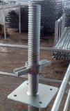 Rahmen-Baugerüst, das Jack für Consrtuction nivelliert
