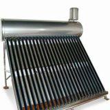 Kompakter kupferner Vakuumgefäß-Solarwarmwasserbereiter der Spulen-EN12976
