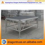 La etapa de aluminio con las escaleras vende al por mayor